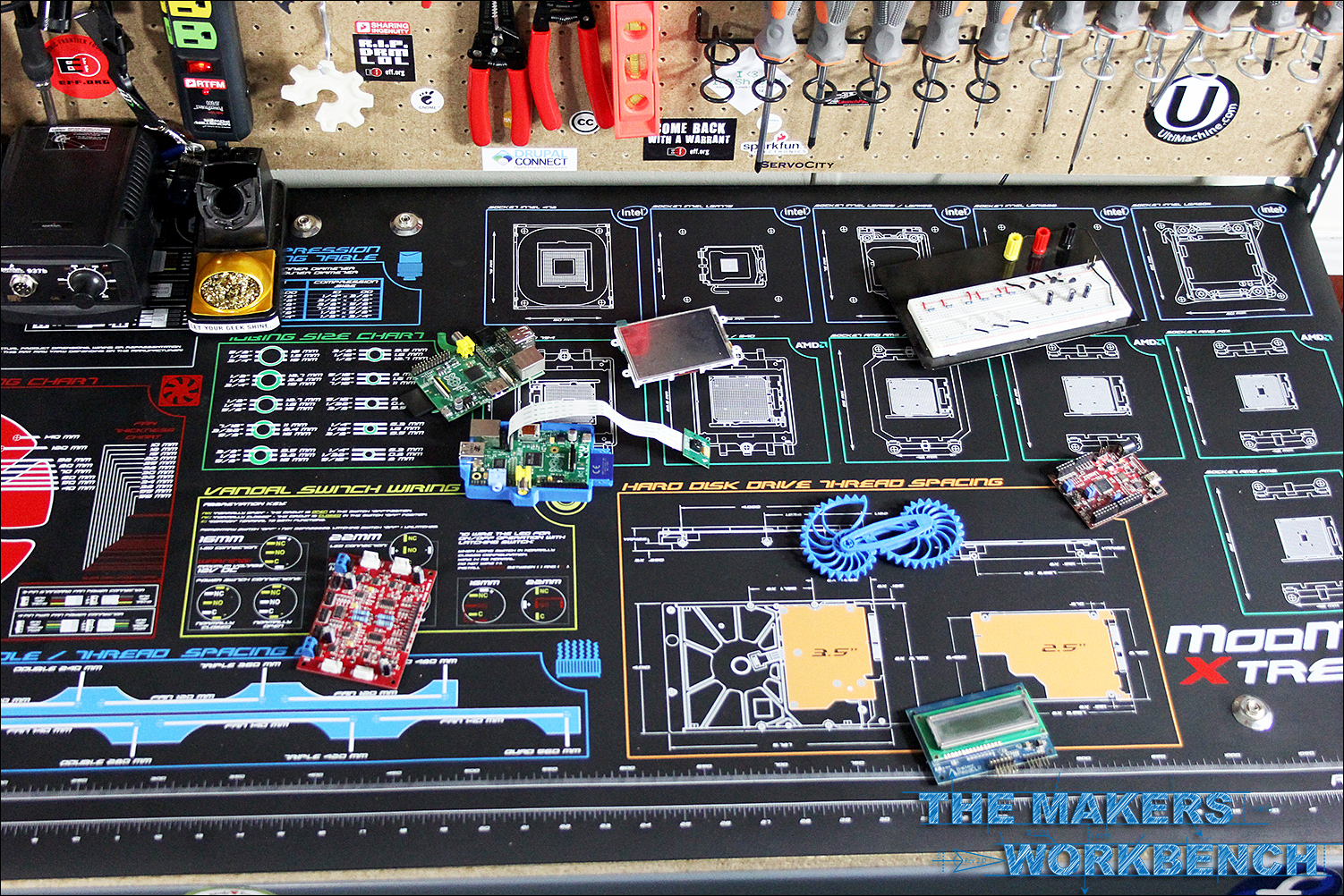 ModRight ModMat Xtreme and Mainboard review