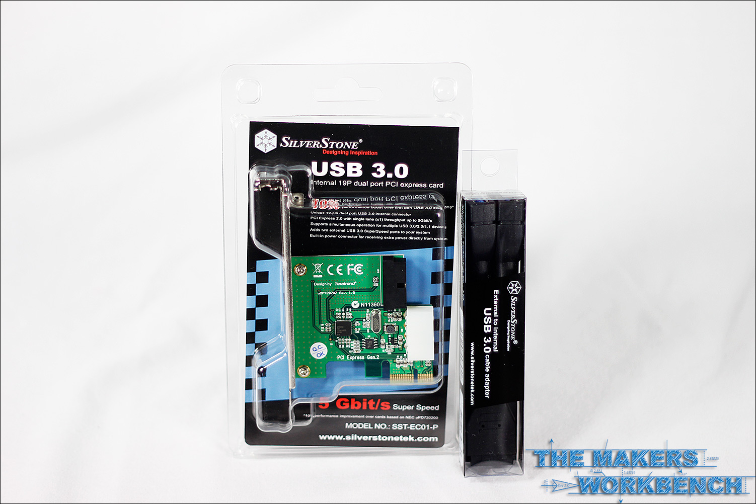 Silverstone USB 3.0 Expansion Card ECO1-P