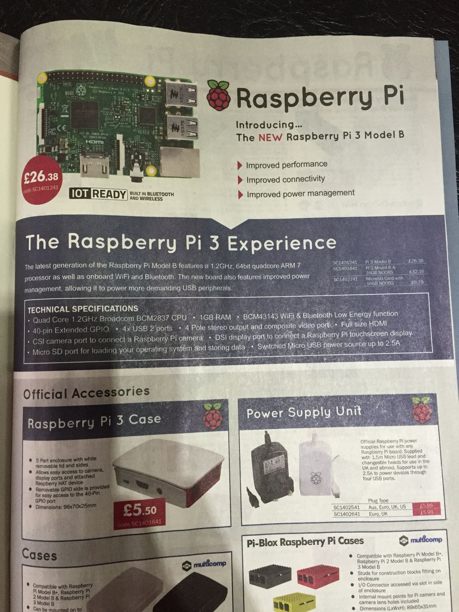Raspberry Pi 3 To Cost $35