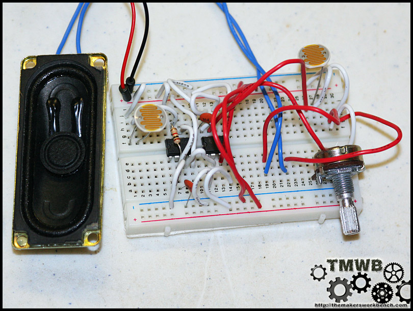 Cheap 9 component Theremin